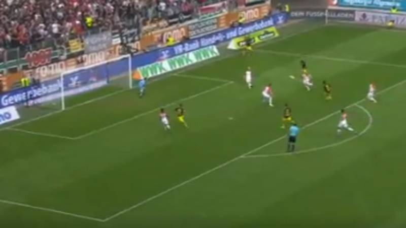 WATCH: Shinji Kagawa Scores The Chip Of Dreams Against Augsburg