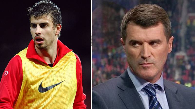 Gerard Pique's Incredible Story About Roy Keane Hearing His Phone Ring In The Changing Room