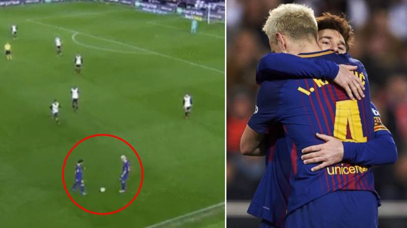Lionel Messi And Ivan Rakitic Took The Absolute P*ss In The 86th Minute Last Night
