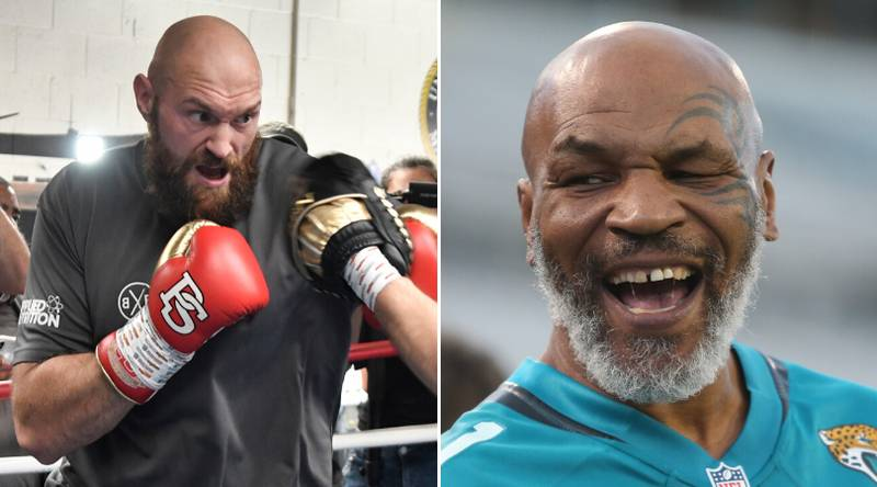 Tyson Fury Was Very Honest In Predicting A Fight With Prime Mike Tyson