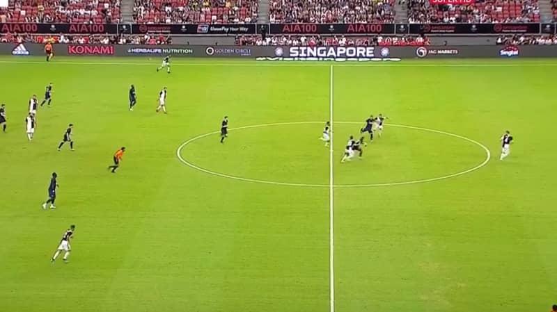 Harry Kane Scores Sensational 93rd Minute Goal From Halfway Line Against Juventus