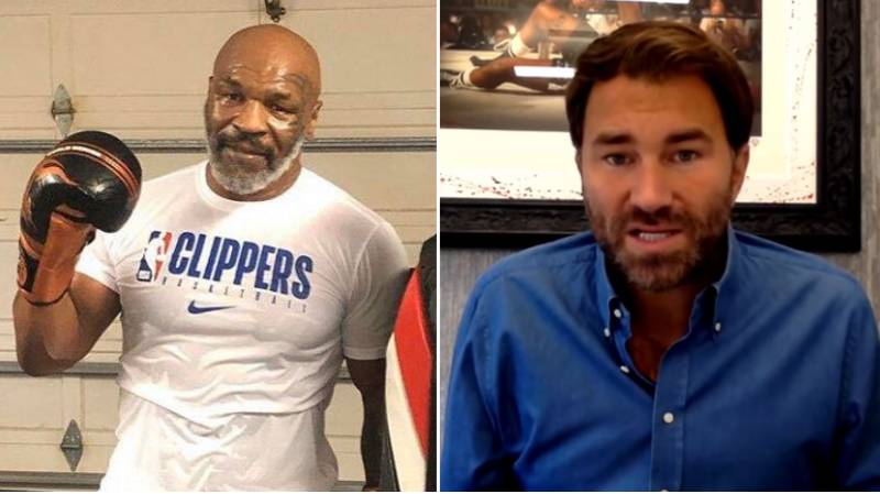 Eddie Hearn's Response When Asked If He'd Promote Mike Tyson's Comeback