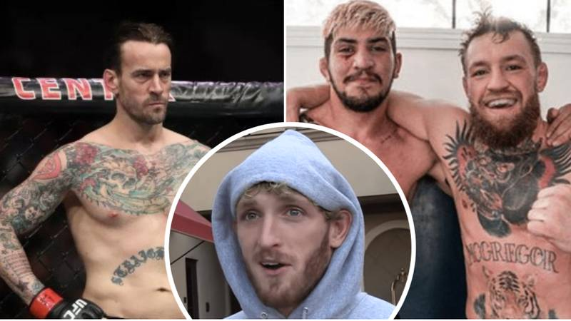 Logan Paul Says He'd Destroy CM Punk In MMA, Open To Dillon Danis Boxing Match