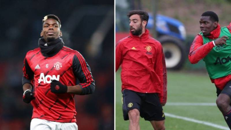 Manchester United Forced To Wait For Paul Pogba And Bruno Fernandes Pairing
