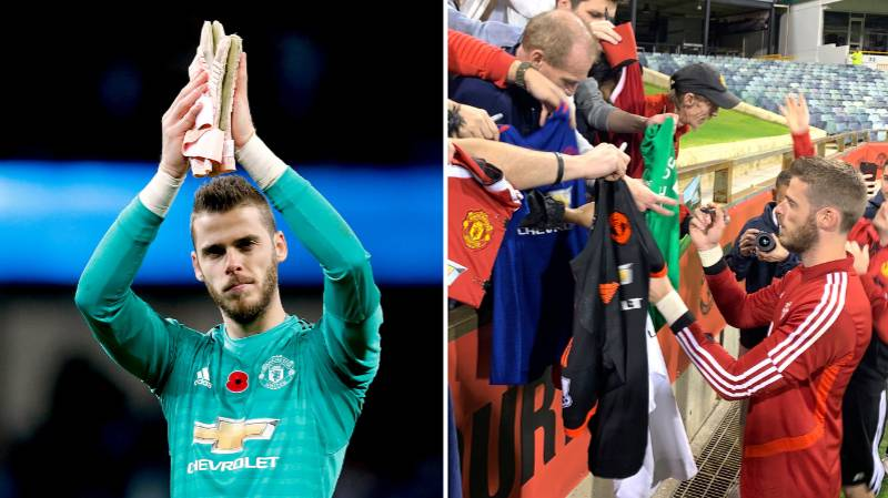 Manchester United Expecting David De Gea To Sign Mega New Contract Worth £375k per week