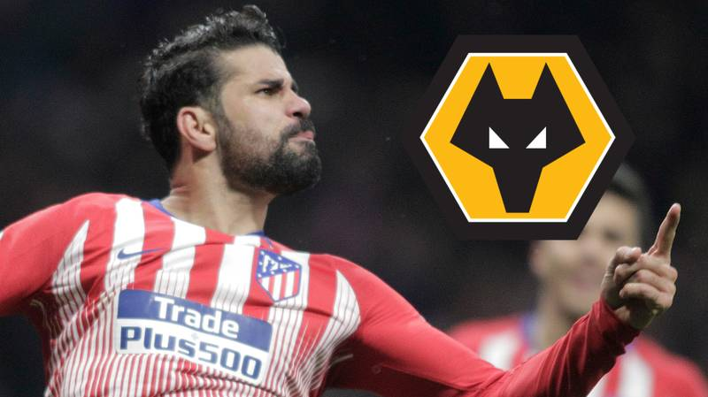 Odds Slashed On Diego Costa Joining Wolves This Summer