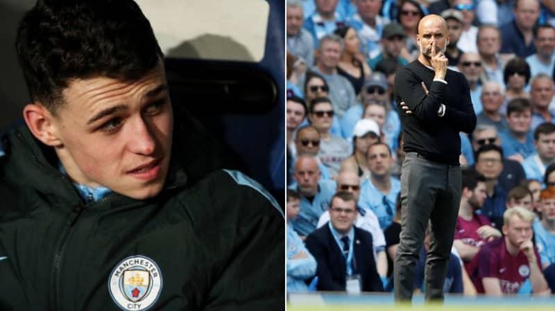 Phil Foden Left Heartbroken As Pep Leaves Him On Bench, Denying Him A Premier League Medal