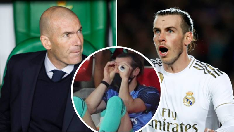 Zinedine Zidane Reveals Why Gareth Bale Was Dropped For Real Madrid's Final La Liga Game