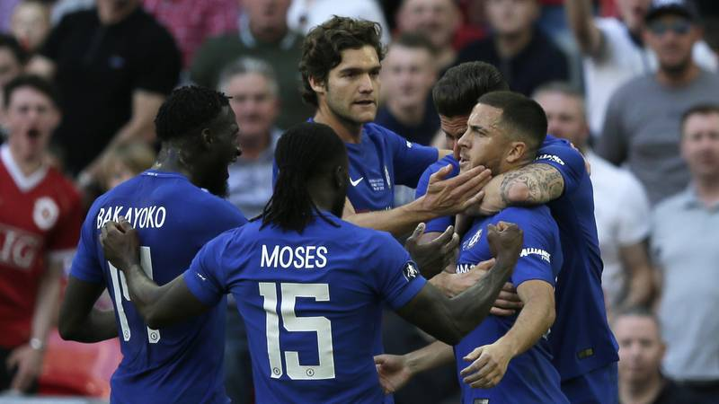 Chelsea Win The FA Cup Following 1-0 Win Over Manchester United