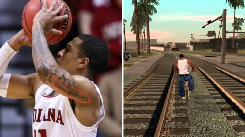 Indiana Hoosiers Devonte Green Has GTA Cheat Code Tattooed On His Arm