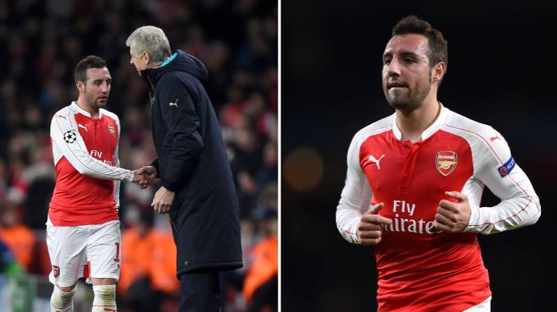 What Arsene Wenger Did For Santi Cazorla Just Before His Foot Surgery Proves He's Pure Class