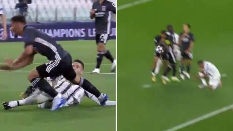 Juventus And Lyon Both Awarded Terrible Penalties In Champions League