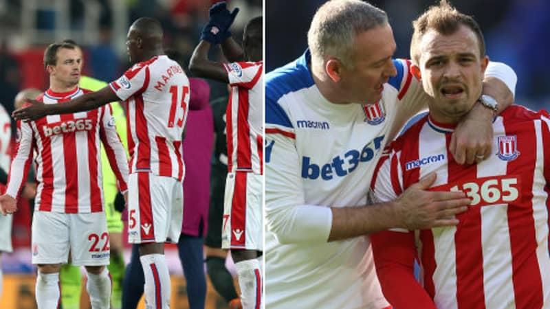 What Xherdan Shaqiri Has Said About His Stoke City Teammates Is Brutal