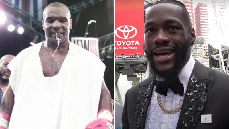 Deontay Wilder's Classy Response To Reporter Backing Him In A Fight With Mike Tyson