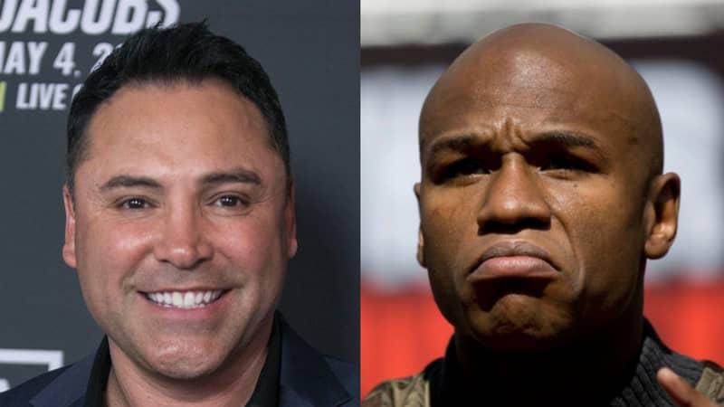 Oscar De La Hoya Announces Floyd Mayweather 'Revenge Fight' Aim