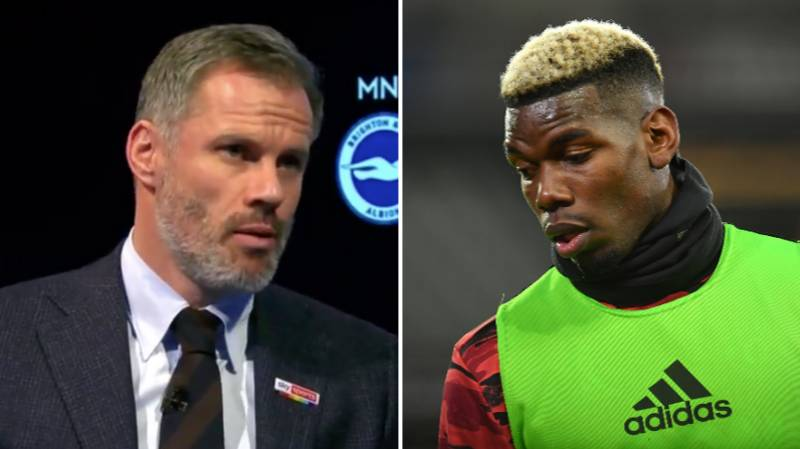 Jamie Carragher Ripped Into 'Most Overrated Player' Paul Pogba Live On Monday Night Football