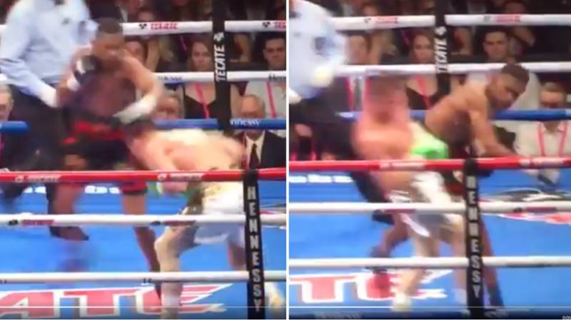 The Moment 'Canelo' Went Full Matrix Against Daniel Jacobs