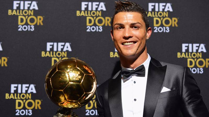 Cristiano Ronaldo Has Done Something Truly Amazing With His 2013 Ballon d'Or Award