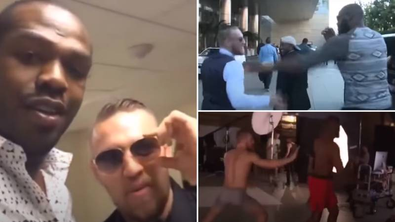 Conor McGregor Reposts Rare Footage Of Himself And Jon Jones Following 'GOAT' Claims