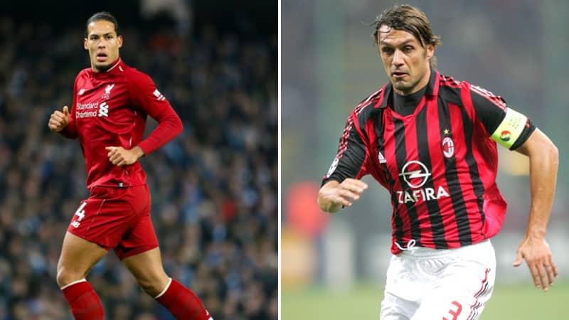 Fan Shuts Down Tweet Suggesting Virgil van Dijk Is As Good As Paolo Maldini