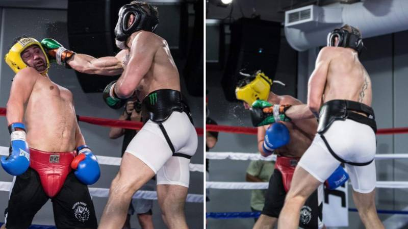 Conor McGregor Tweeted 17 Posts Of Him Hitting Paulie Malignaggi In Sparring