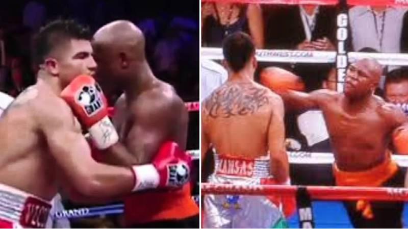 When Floyd Mayweather's Brutal Cheap Shot Knocked Out Victor Ortiz