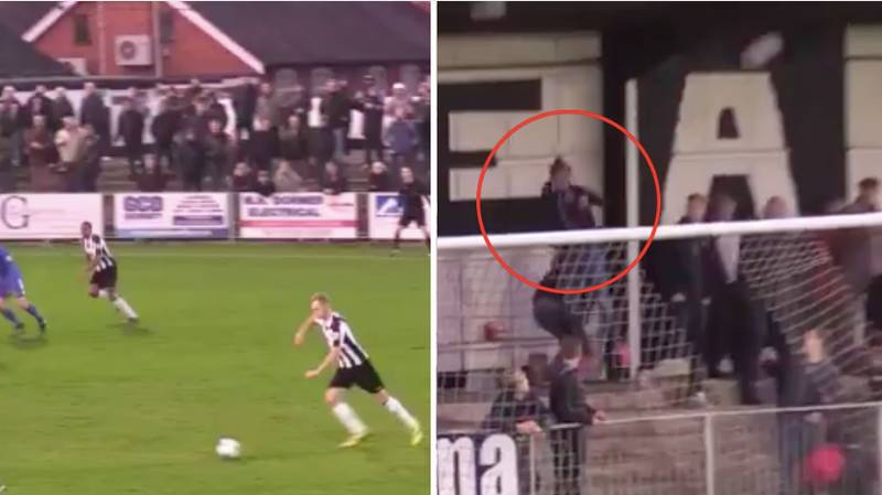 Maidenhead Fan Saves Woman From Being Hit In The Face With Heroic Defensive Header