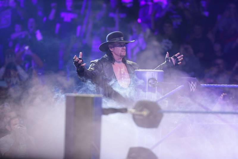 The Undertaker Returns To WWE For The First Time Since Wrestlemania