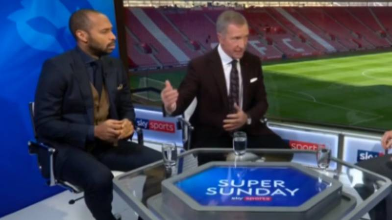 Thierry Henry's Reaction To Graeme Souness Talking About Paul Pogba Is Priceless