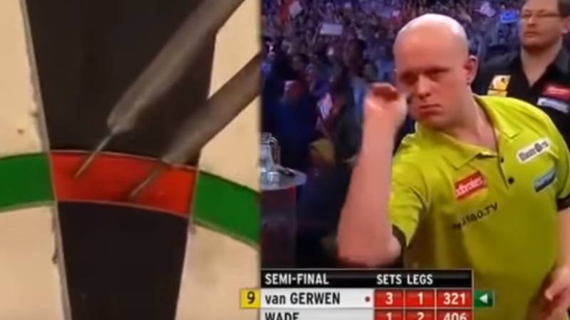 When Michael van Gerwen Threw Seventeen Perfect Darts