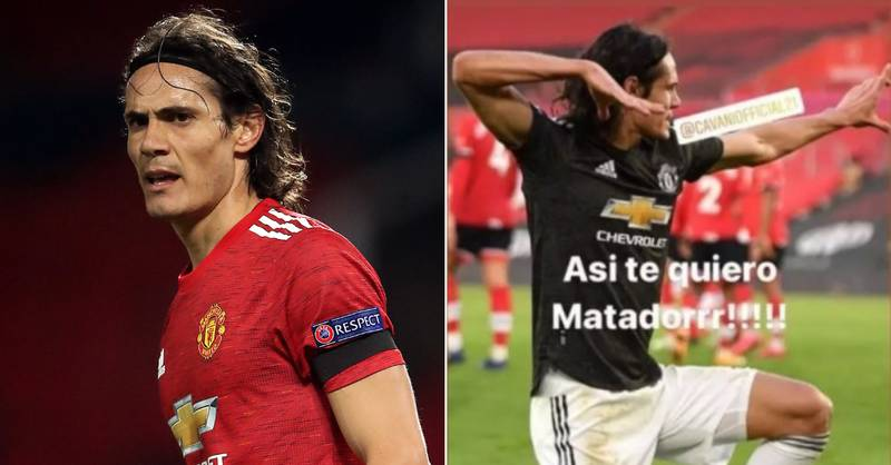 Edinson Cavani Officially Hit With FA Charge Over Social Media Post