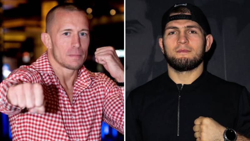 Georges St-Pierre Claims UFC Blocked Mega-Fight With Khabib Nurmagomedov In 2018