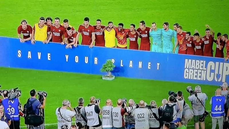 AS Roma Win A Bonsai Tree After Beating Real Madrid In The Mabel Green Cup
