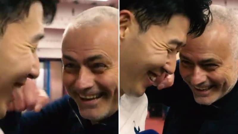Jose Mourinho Hilariously Trolls Son Heung-Min Despite Scoring Two Goals Vs Aston Villa