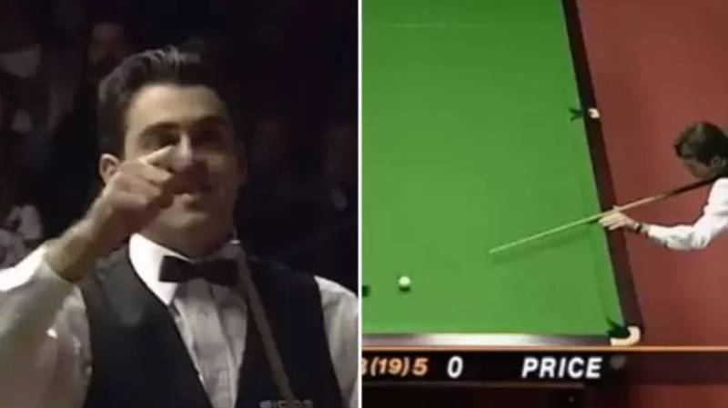 Ronnie O'Sullivan's Fastest Ever 147 Break Shows How Much Of A Genius He Is