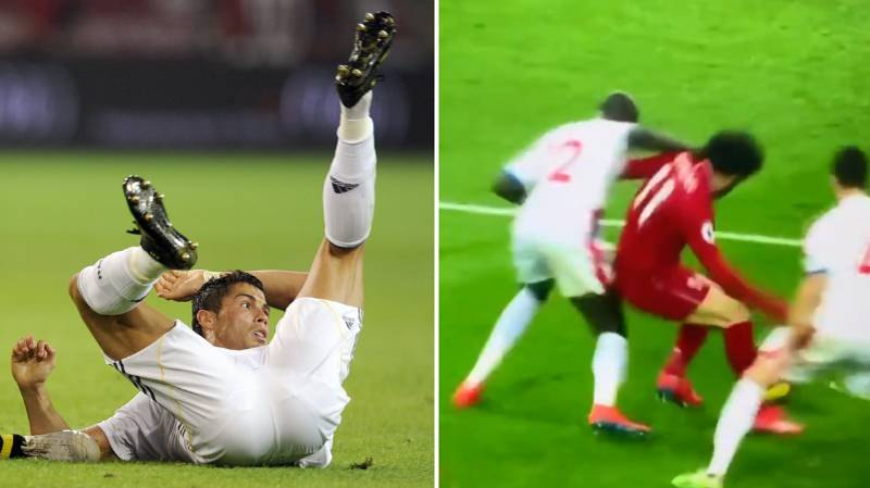 'Mohamed Salah Is Willing To Cheat Just Like Cristiano Ronaldo'