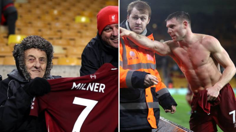 James Milner Sends Shirts To Two Kids Who Gave Up His Matchday Shirt