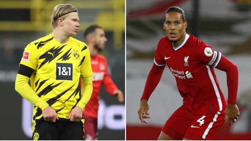 Erling Haaland Names The Three Best Centre-Backs In World Football