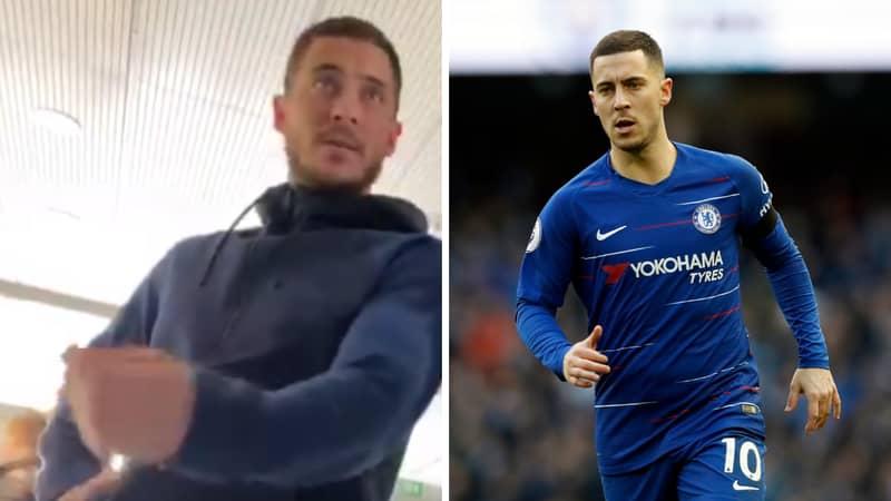 Eden Hazard Makes Transfer Promise To Chelsea Fan