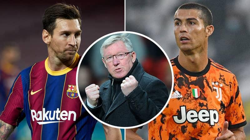 Sir Alex Ferguson Had A Perfect Response To The Lionel Messi Vs Cristiano Ronaldo Debate