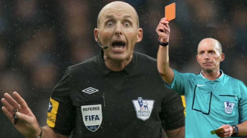 Mike Dean Is One Red Card Away From Giving Out 100 In The Premier League