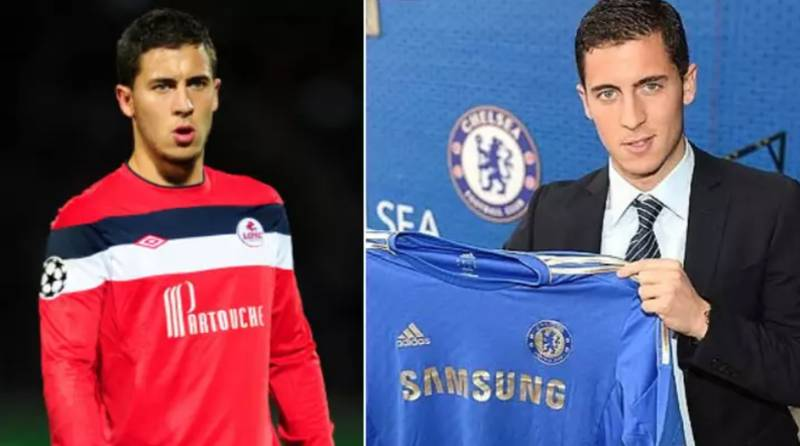 Eden Hazard Reveals The Player Who Convinced Him To Sign For Chelsea