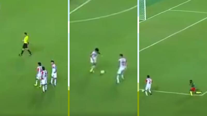 Tajikistan's Free Kick Routine At The U-17 World Cup Is Brilliant