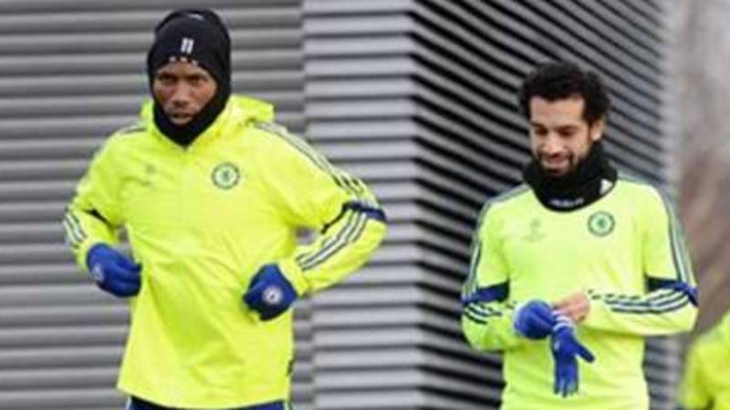 Remembering The Emotional Text Message Salah Sent To Drogba While At Chelsea