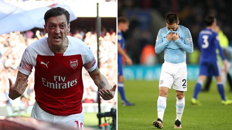 Arsenal Fan Produces Incredible 25 Tweet Thread 'Proving' Mesut Ozil Is Better Than David Silva