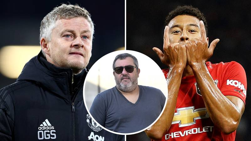Man United Midfielder Jesse Lingard Has Been 'Offered' To Four Clubs By Mino Raiola