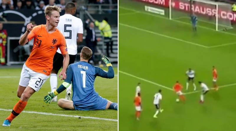 Frenkie De Jong's Performance For Netherlands Triggered Anger At Ernesto Valverde