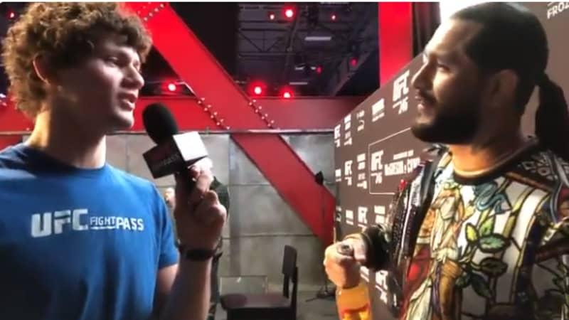 UFC's Chase Hooper Pranks Jorge Masvidal About Being Ben Askren's Son