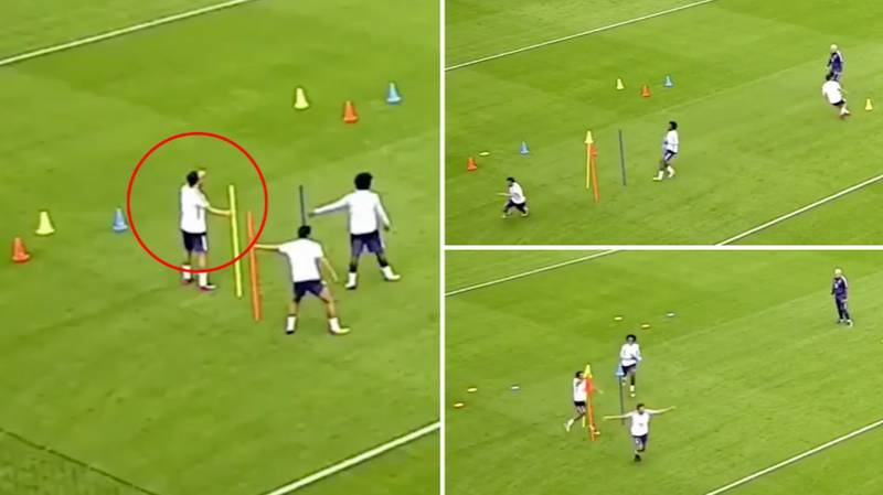 Cesc Fabregas Beat Willian And Pedro In Speed Test By Using Intelligence Instead Of Pace