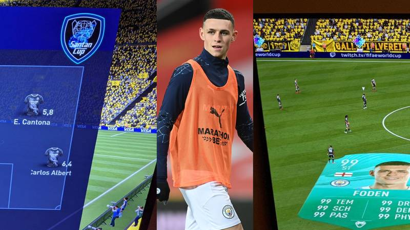 Phil Foden's FIFA Ultimate Team Revealed And It's Incredible